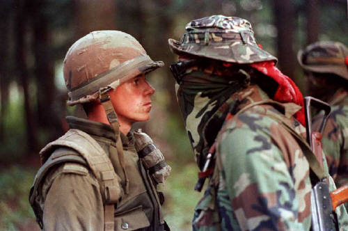 Face Off During the Oka Crisis (1990)