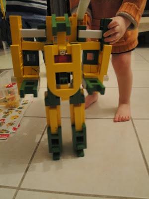 Robot en Lasy