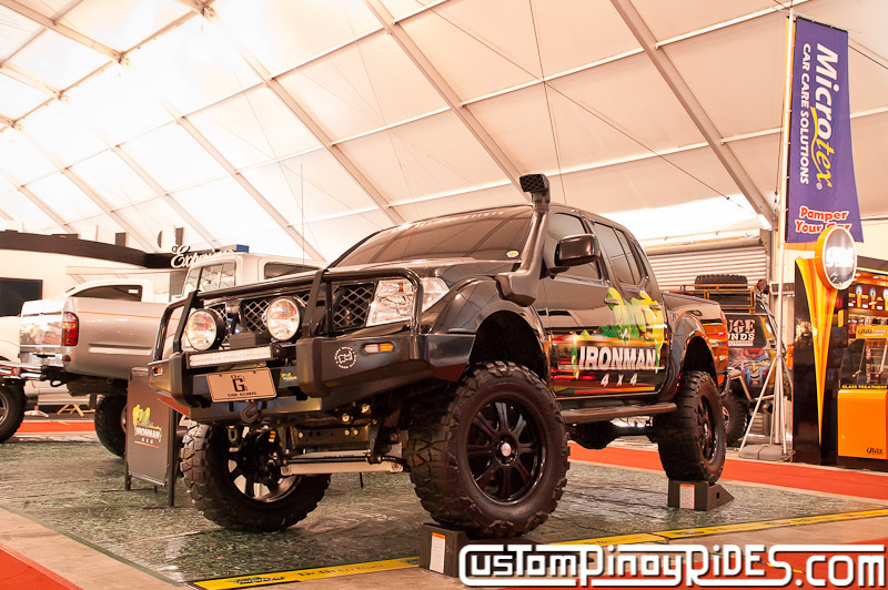 Nissan Navara by Dr. G's Car Clinic and IronMan 4x4 Custom Pinoy Rides pic1