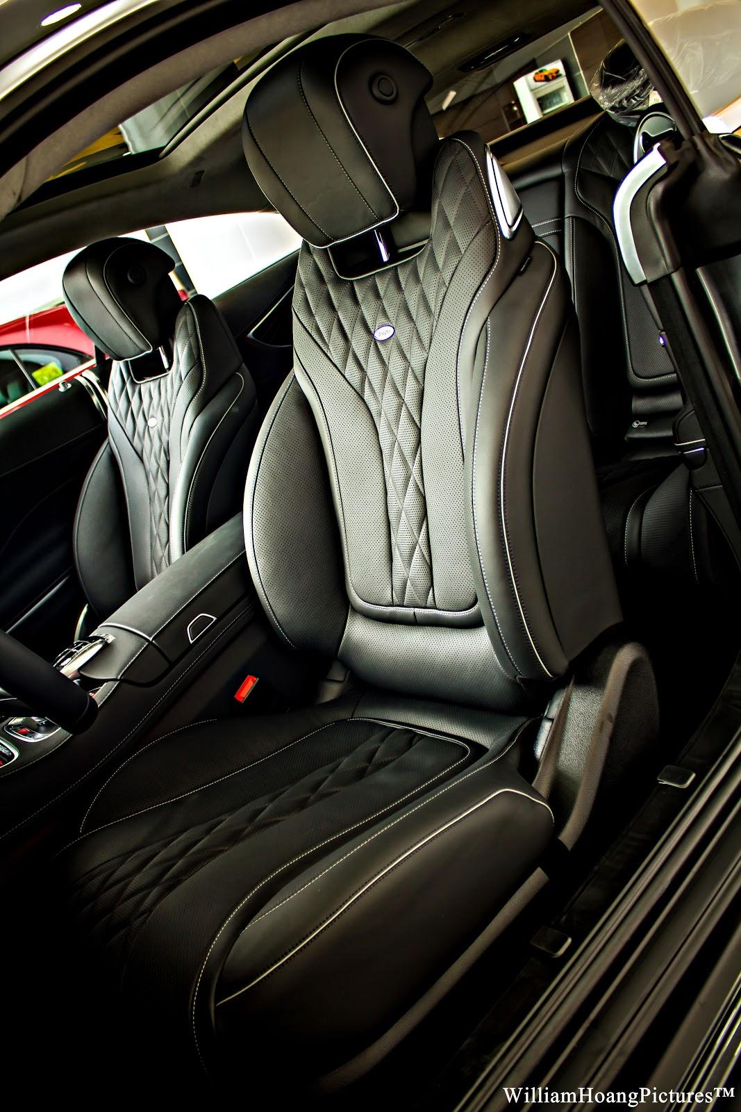 Hàng ghế thứ hai của xe ở đẳng sau bức ảnh, rất rộng rãi, xóa bỏ quan niệm coupe có hàng ghế sau chật chội