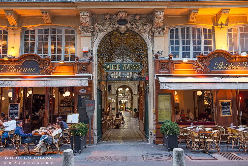 到巴黎攝影 薇薇安通道 Galerie Vivienne