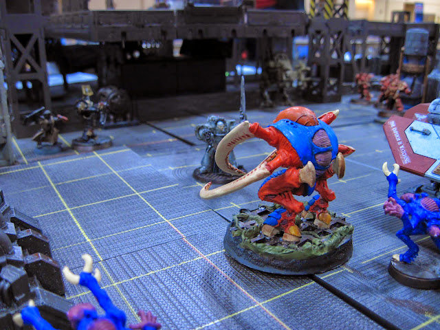With one turn left the Carnifex stands between the Inquisitor and his escape!