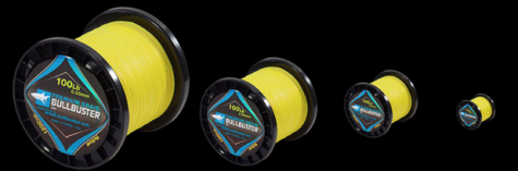 1500 Yard Spools Of 20Lb Yellow Braided Fishing Line