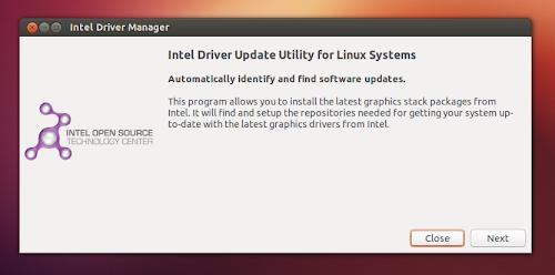 Intel Driver Update su Ubuntu 12.10