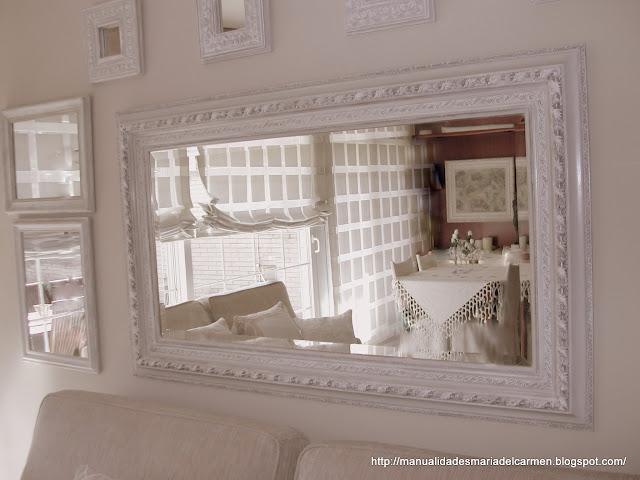 Manualidades la ventana de maria del carmen decoraci n - Leroy merlin espejo de pie ...
