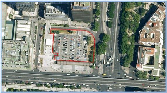 A la venta el aparcamiento de Adif en Nuevos Ministerios