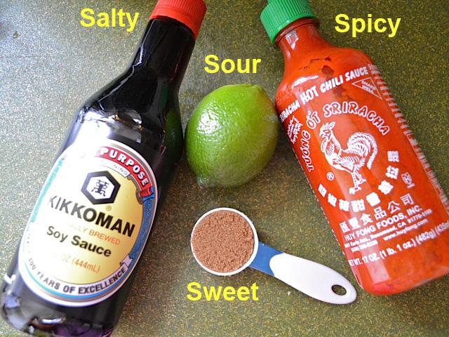 sauce/seasoning ingredients