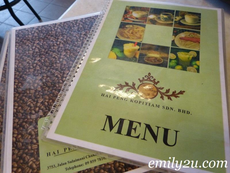 Hai Peng coffee Chukai Kemaman Terengganu
