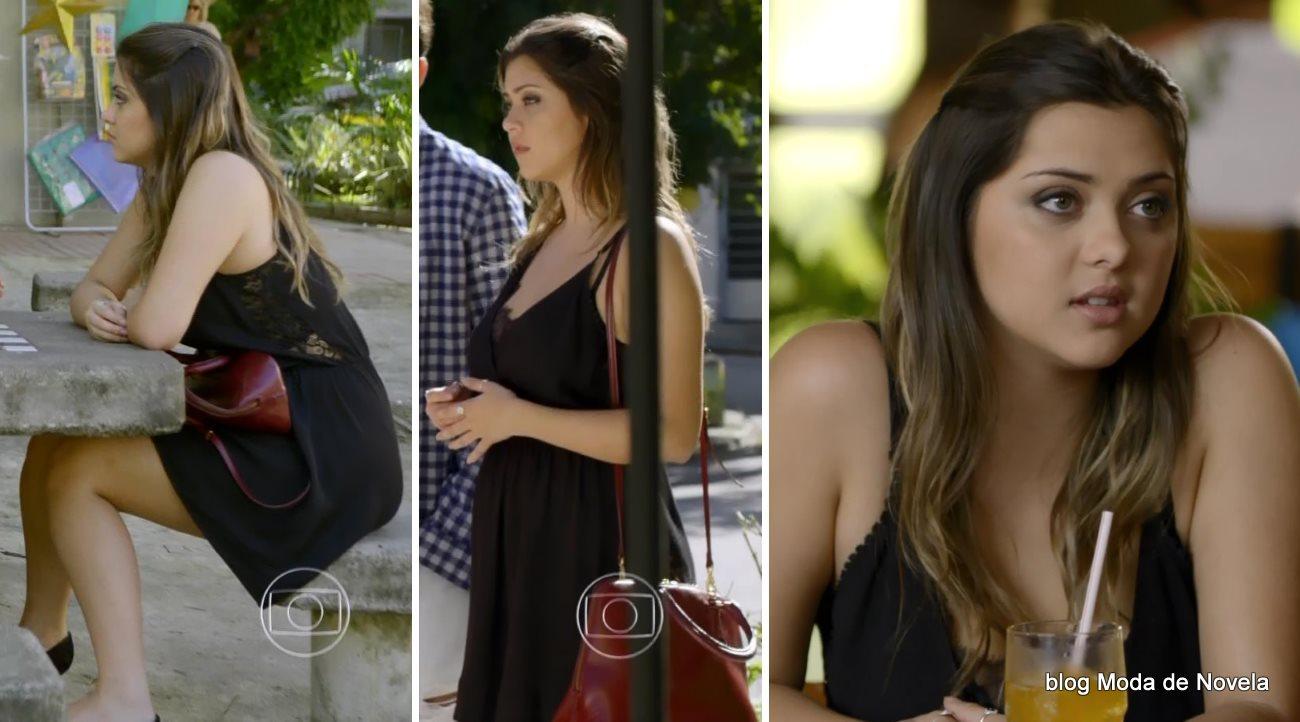 moda da novela Em Família - look da Bárbara dia 23 de junho