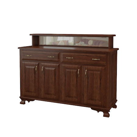 Prairie Buffet in Temperance Walnut