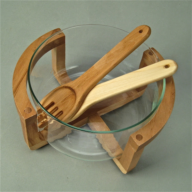 Wooden Salad Bowl With Stand Wooden Salad Bowl Sets Wood