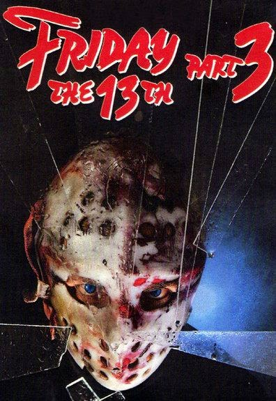 Poster Of Friday the 13th Part 3 (1982) Full Movie Hindi Dubbed Free Download Watch Online At Alldownloads4u.Com