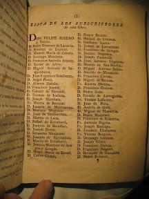 Lista de suscriptores