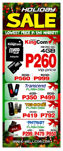 Holiday gadgets sale