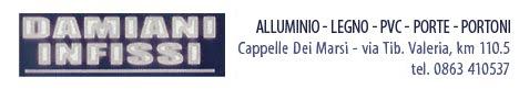 Damiani infissi - alluminio, legno, pvc, porte (cappelle dei marsi)
