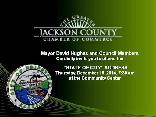 Bridgeport State of the City Address December 18, 2014