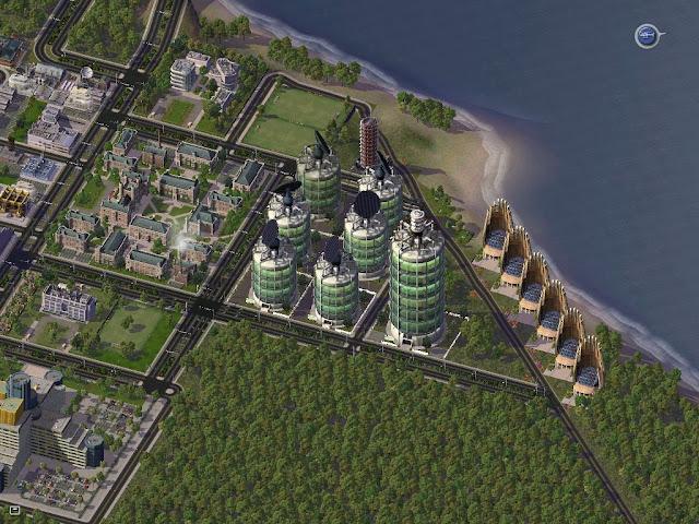 Simcity  Reward Buildings Effects