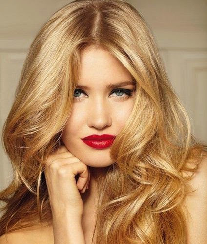 long blonde highlighted hairstyles