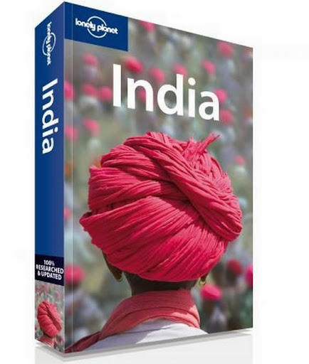 lonely planet india guidebook