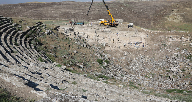 Near East: Restoration of Laodicea's Hellenistic theatre to be completed in 3 years