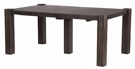 """70"""" x 42"""" Phoenix Dining Table in Blackwash Oak"""