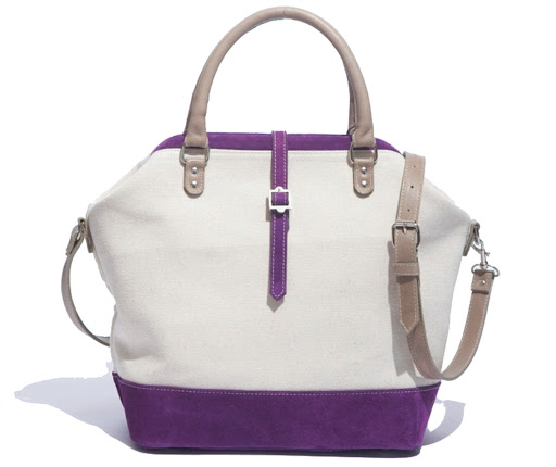 from the current SS10 collection the Salt Bag in Violet