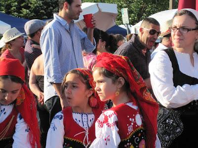 Girls in the Portuguese Fair