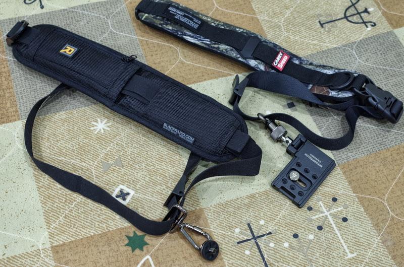 快槍俠背帶:BlackRapid RS-4與Carry Speed FS-2簡易比較與使用心得