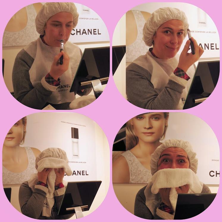 Las limpiadoras de Chanel: Probando, probando Lait Confort.