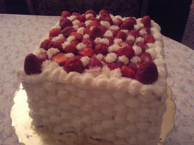 Le fraisier - recette indexée dans la rubrique Desserts