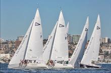 J/105s sailing Masters Regatta- San Diego, CA