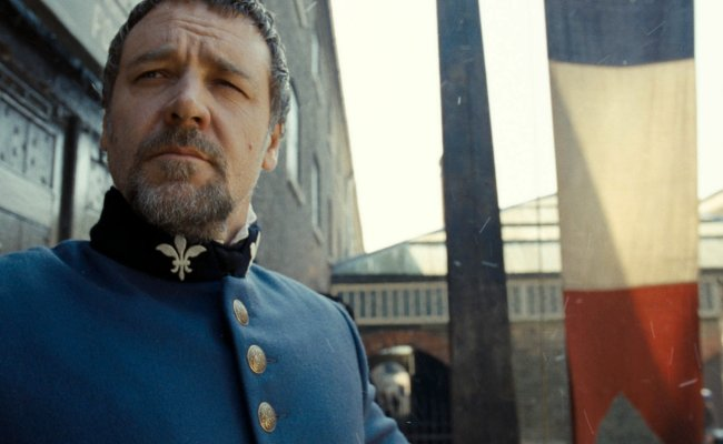 Cine. Los Miserables. Russell Crowe