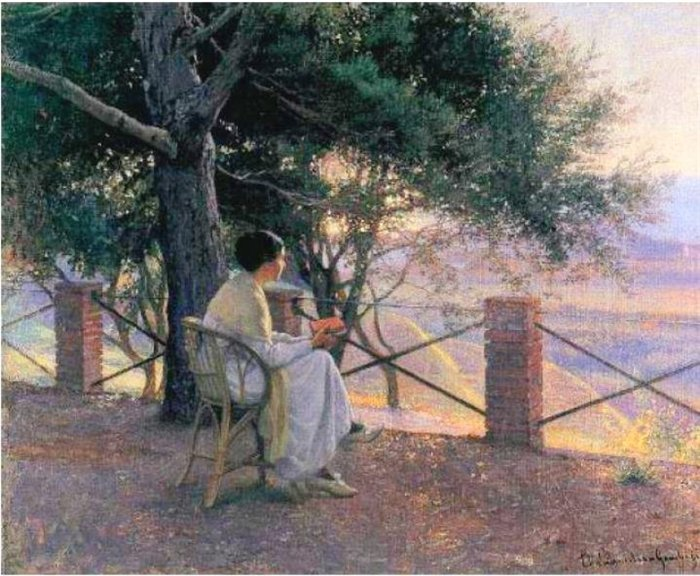 Elin Danielson-Gambogi - Sunset.
