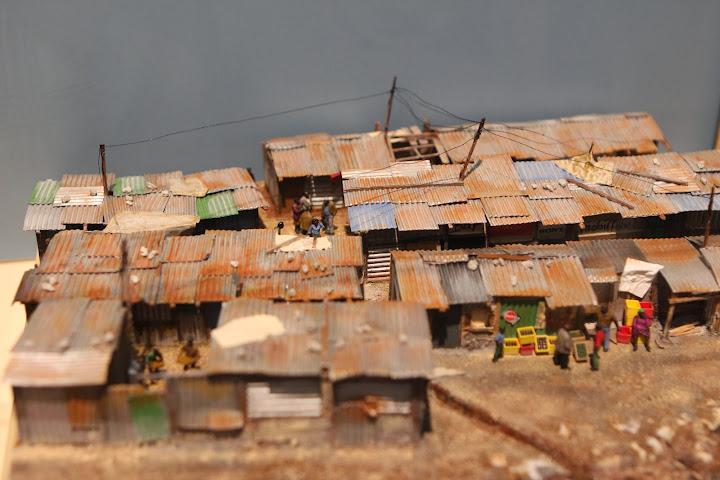 Besonders gelungen fand ich diese Slums