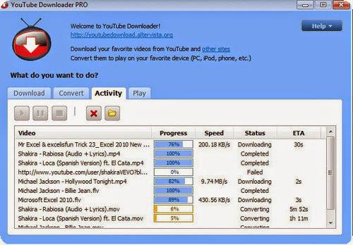 YouTube Video Downloader PRO 4.4.0.2 Final - Bajando v�deos sin problemas