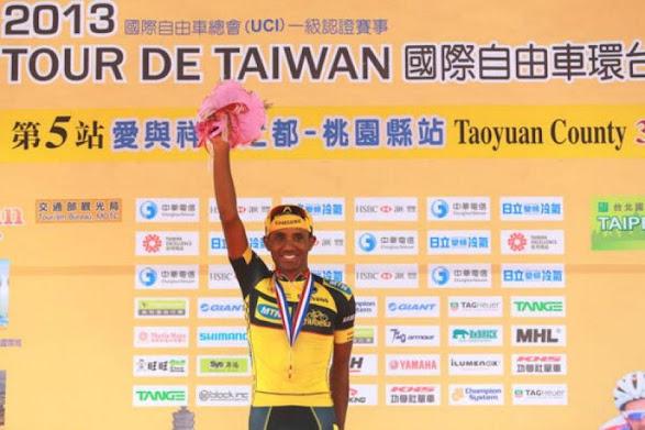 Tsgabu Grmay gana la 5ª etapa del Tour de Taiwan