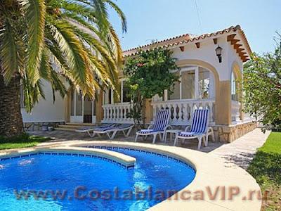 аренда квартиры в Испании, аренда виллы в Испании, снять виллу в Испании, снять дом в Испании, недвижимость в Испании, CostablancaVIP