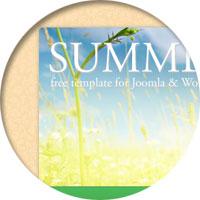 Бесплатная летняя тема для WordPress