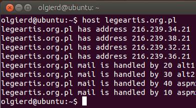 adres IP legeartis.org.pl