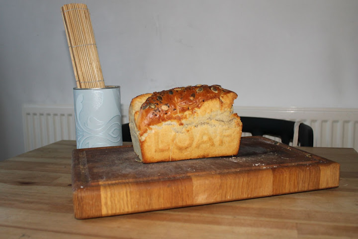 loaf, bread, homemade