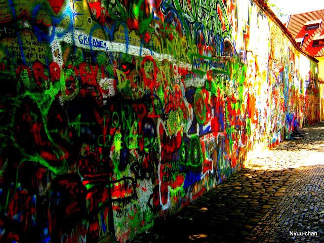 Pokreslená zeď