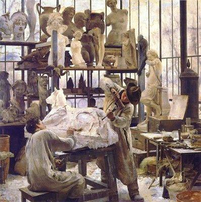 Édouard Joseph Dantan - Sculptor