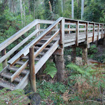 Wooden bridge near Mill Creek picnic area (164374)