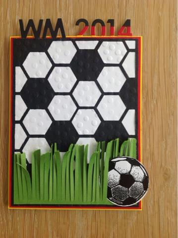 Stampin up Fußball