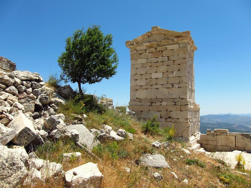 rebuilt ruin
