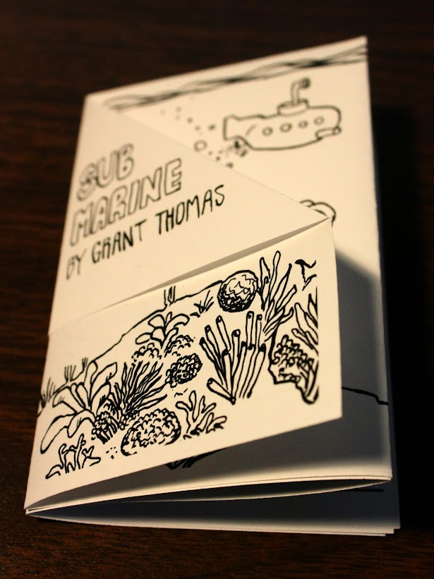 Submarine a mini comic by Grant Thomas