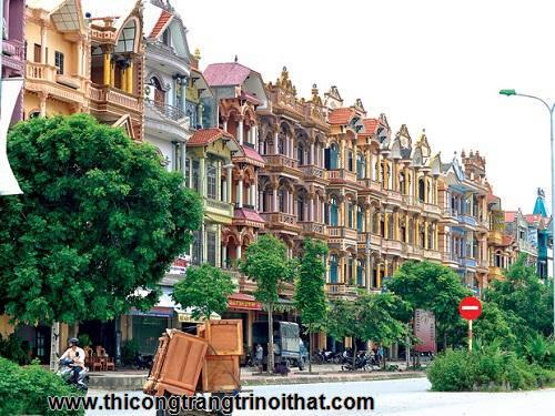 Những ngôi làng đại gia nức tiếng ở Việt Nam - thi công nội thất-2