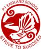 Pt England School logo