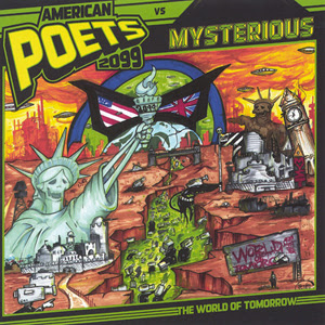 American Poets 2099 Vs Mysterious - The World Of Tomorrow
