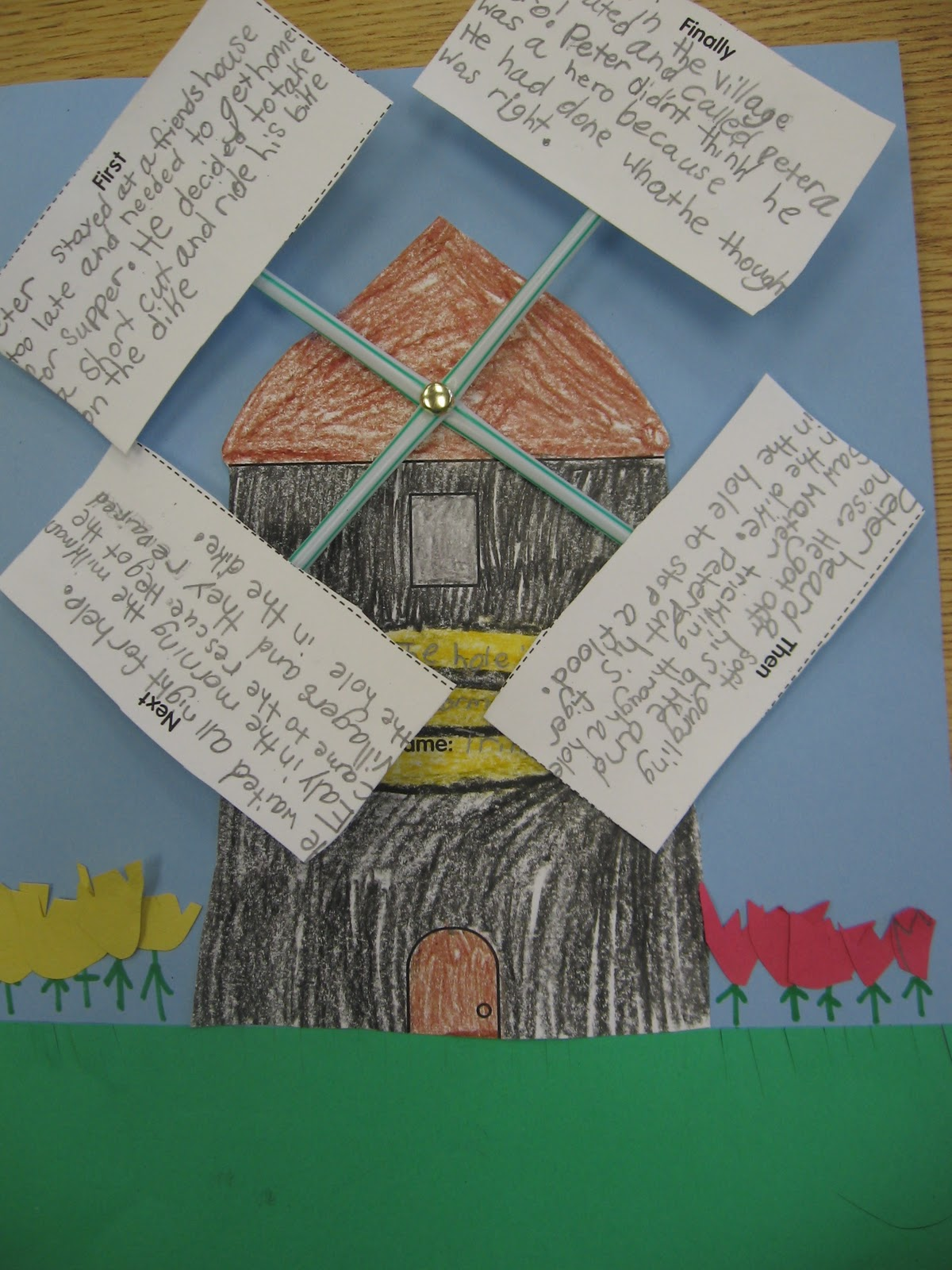 Buzzing About Second Grade: The Hole in the Dike and Courage Project ...